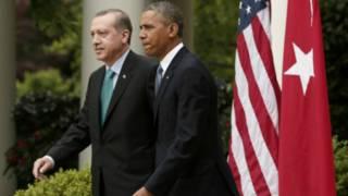 إردوغان: أوباما طرح فكرة القيام بعمل مشترك في الرقة خلال لقائي معه قمة العشرين بالصين