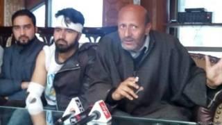श्रीनगर में तनाव