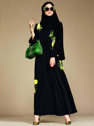 Hijab y Abaya de Dolce & Gabbana