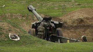 Армянская гаубица в Карабахе