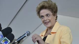 Tổng thống Brazil, bà Dilma Rousseff