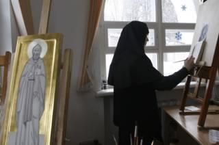Мастерская Свято-Елисаветинского монастыря в Минской области