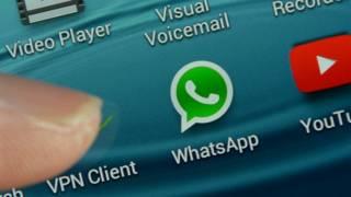 La aplicación móvil Whatsapp tiene mil millones de usuarios en el mundo