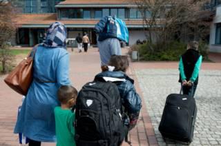 مهاجرون من الشرق الأوسط في ألمانيا