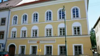 Gidan da aka haifi Adolf Hitler a Austria