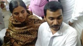 रोहित वेमुला की मां और भाई