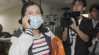 台灣家屬向立法委員和媒體求助