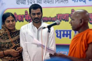 rohit_vemula_mother_brother_convert_to_buddhism