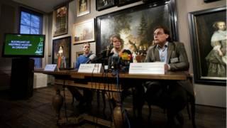Пресс-конференция в музее
