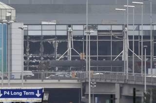 Аэропорта Брюсселя после нападения
