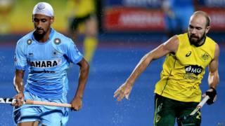 भारत-ऑस्ट्रेलिया हॉकी मैच
