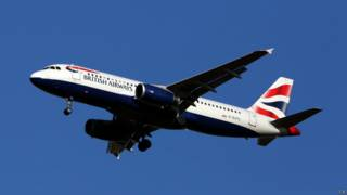 Airbus A320 de British Airways