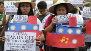 菲律宾示威者