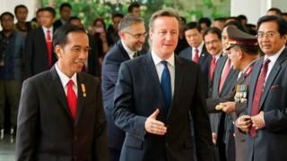 Jokowi dan David Cameron