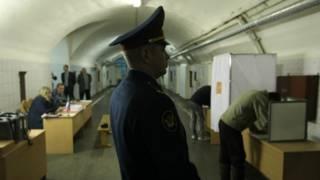Голосование в тюрьме