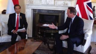 Joko Widodo dan David Cameron