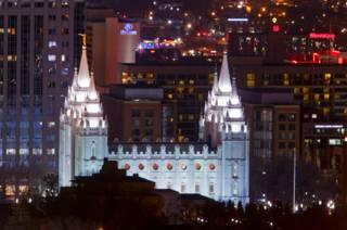 Храм мормонов в Солт-Лейк-Сити