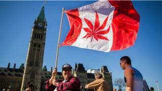 Демонстрация любителей марихуаны