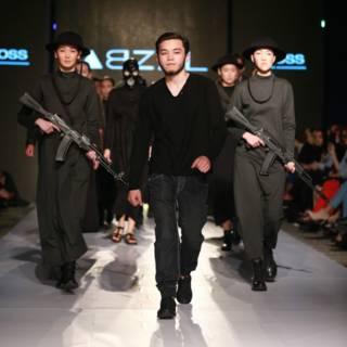 Коллекция Абзала Сейдина. Казахстанская неделя моды, 20 апреля 2016 г.