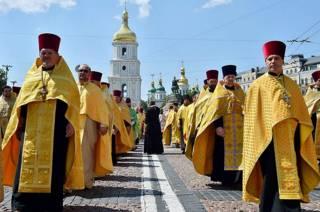 Украинские священники