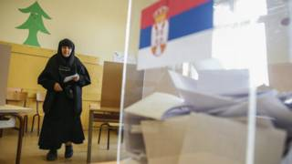 Голосование в Косово