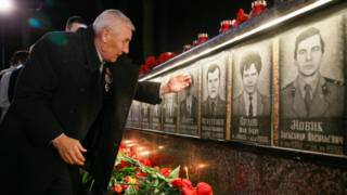Акция память жертв Чернобыля