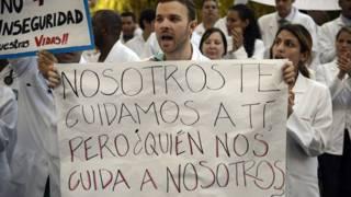 Protesta de doctores