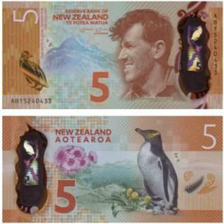 Billete Nueva Zelanda