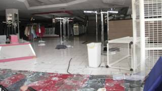 Cerca de 50 tiendas fueron saqueadas en Maracaibo, Venezuela.