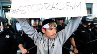Protestas contra Trump