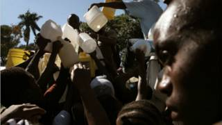 Le commerce d'eau provenant du Rwanda est tenu par des ressortissants des deux pays.