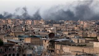 """روسيا """"لن تضغط على دمشق لايقاف قصف حلب"""""""