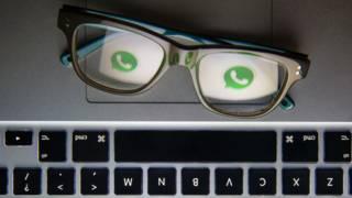 Whatsapp y lentes