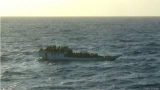 Perahu pencari suaka