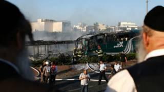 Взрыв смертника в Иерусалиме