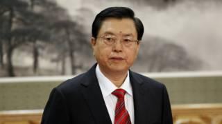 中国全国人大委员长张德江