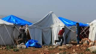 सीरिया राहत कैंप