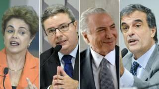 (Fotos: Ag. Brasil e Ag. Senado)