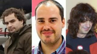 स्पेन के अग़वा किए गए पत्रकार जिन्हें अब रिहा कर दिया गया है