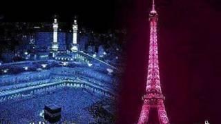 Мечеть в Мекке и Эйфелева башня