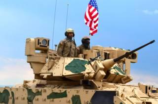 Американские военные на учениях в Грузии