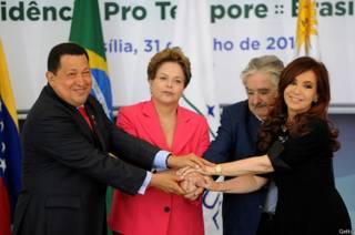 """Cómo queda el mapa político de América Latina con el """"impeachment"""" a Dilma Rousseff en Brasil"""