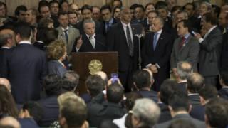 Michel Temer y su gabinetes