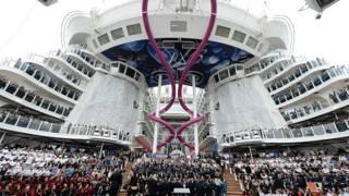 Las impresionantes cifras del crucero más grande del mundo