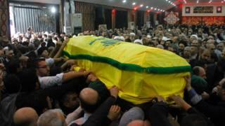 Похороны Мустафы Бадреддина