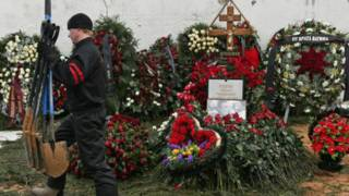 Венки на Хованском кладбище