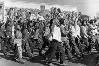 Молодые сторонники Мао