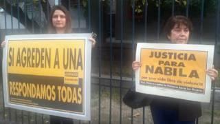 Protesta por el caso de Nabila Rifo