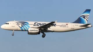 Самолет авиакомпании EgyptAir