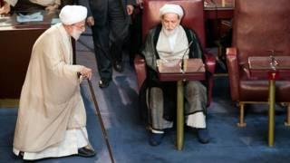 محمد یزدی و احمد جنتی